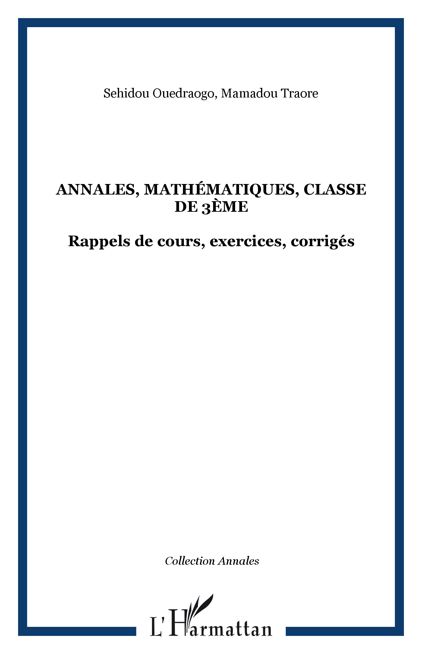 mathematiques 3eme exercices corriges