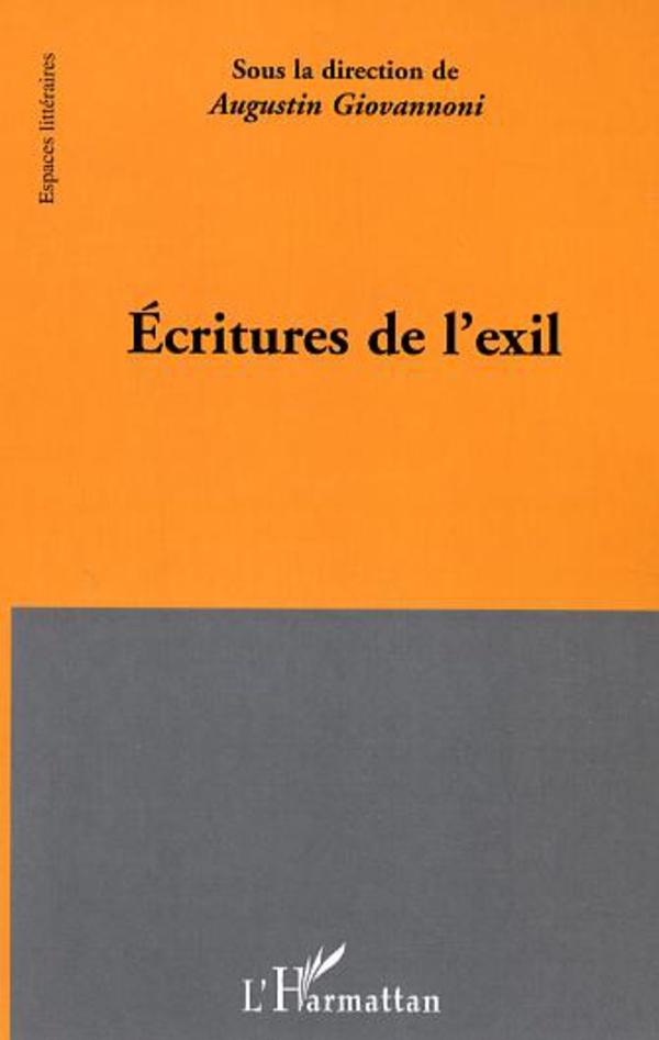 Ecritures de l'exil