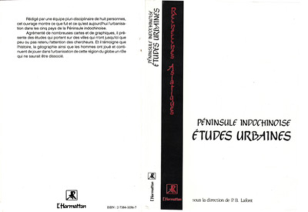 Péninsule indochinoise: études urbaines