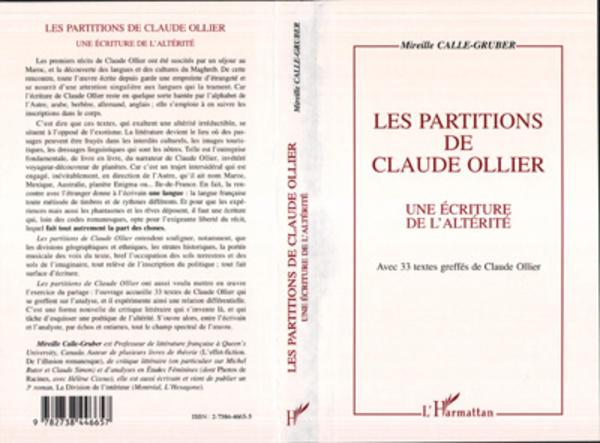 Les partitions de Claude Ollier