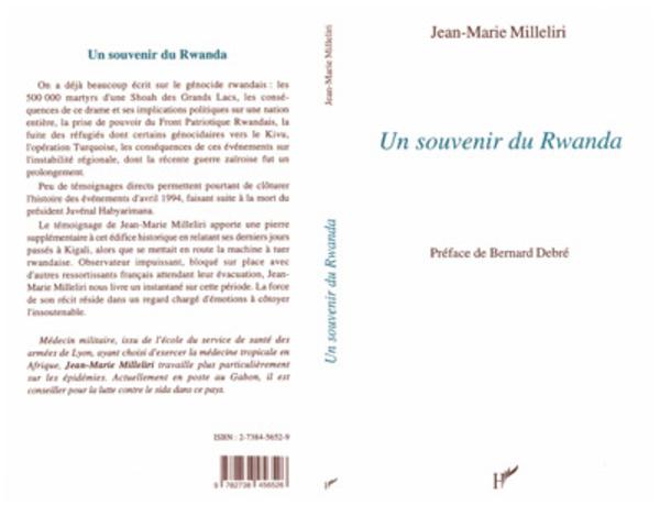 Un souvenir du Rwanda - Jean-Marie Milleliri