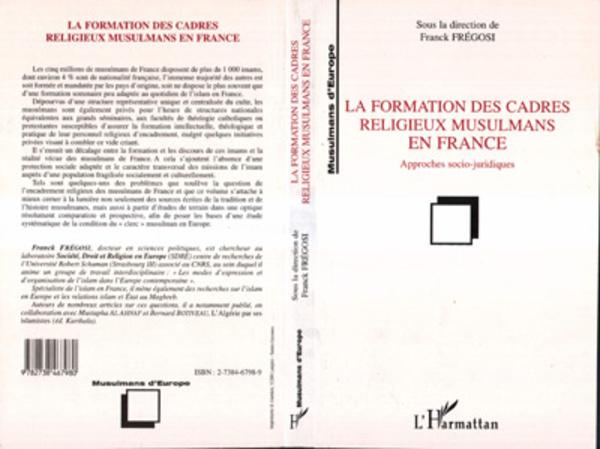 La Formation des Cadres Religieux Musulmans en France
