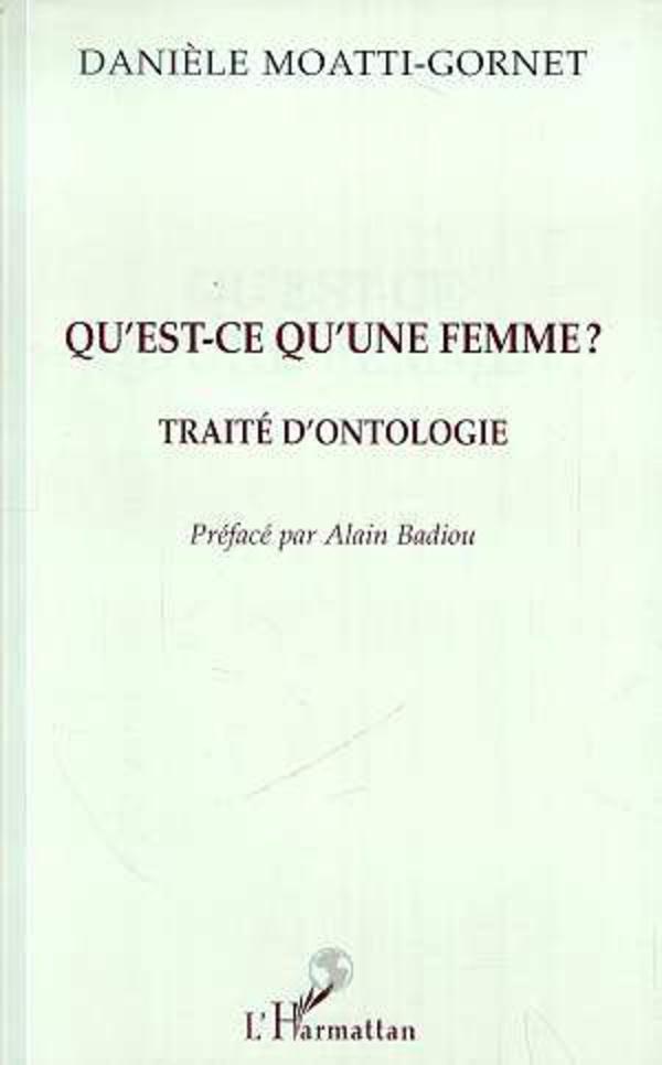 Qu Est Ce Qu Une Femme Traite D Ontologie Daniele Moatti Gornet