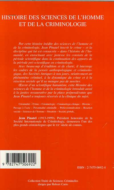 Synonyms and antonyms of criminologie in the French dictionary of synonyms