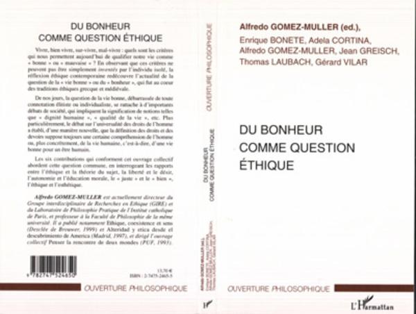 DU BONHEUR COMME