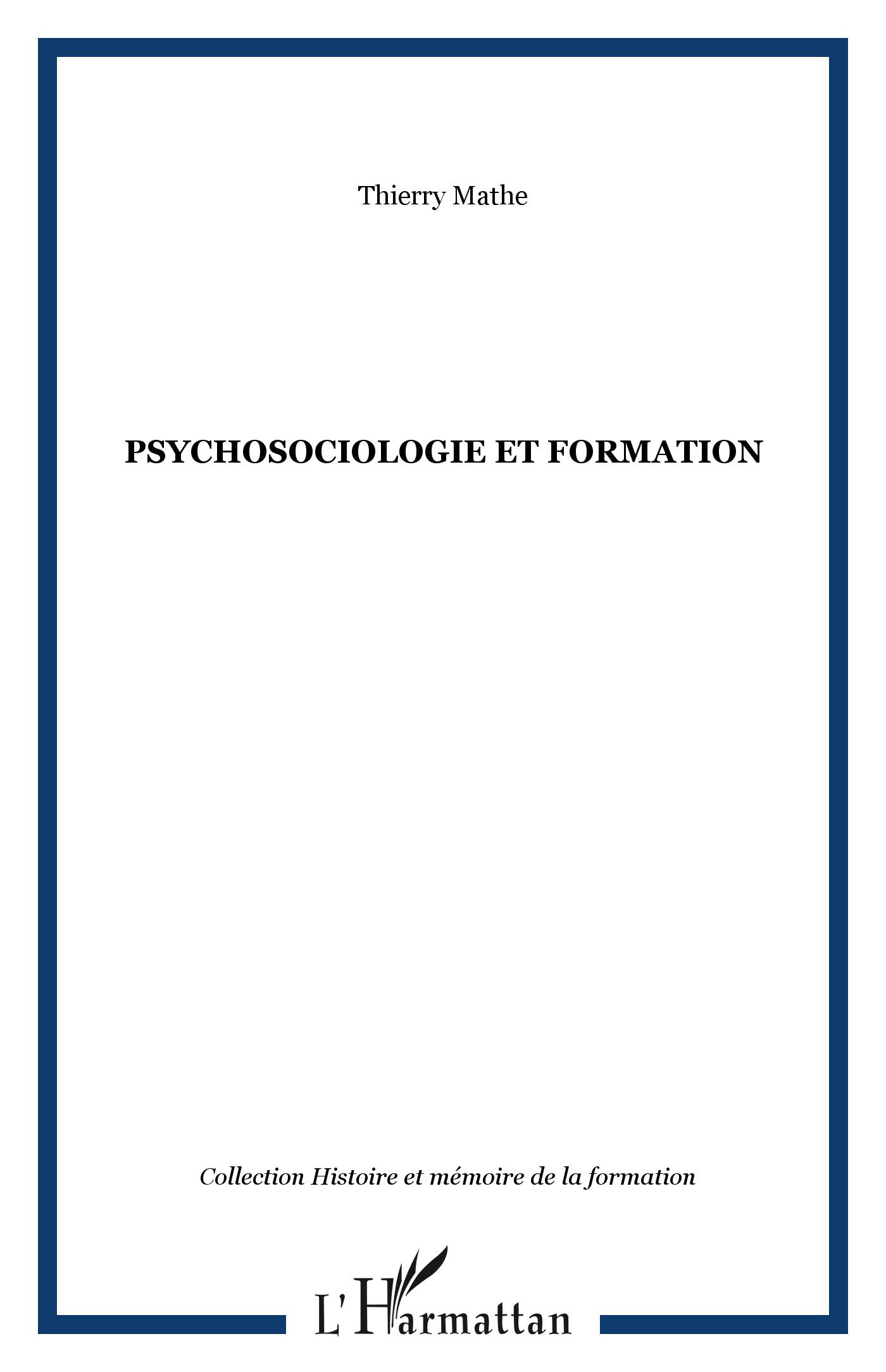 Psychosociologie et