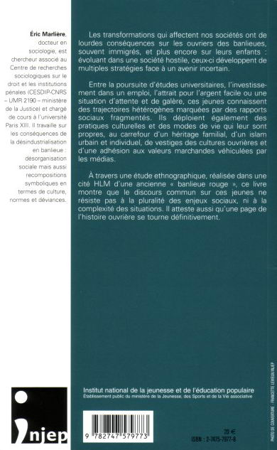 Jeunes en cité : Diversité des trajectoires ou destin commun ? (Debats jeunesses) (French Edition)