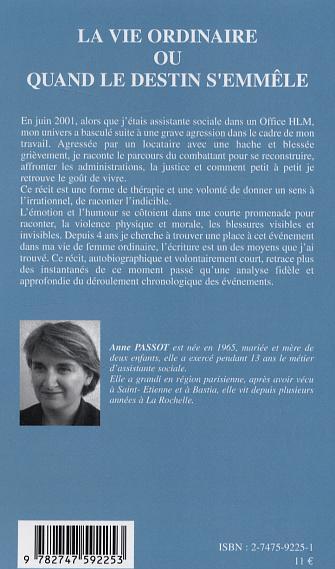 La vie ordinaire ou quand le destin semmêle (French Edition)