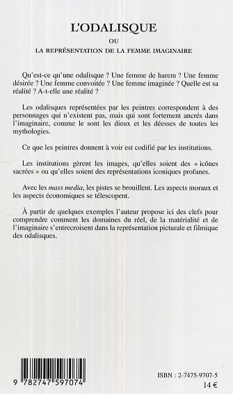 L'Odalisque ou la représentation de la femme imaginaire - Jean-Pierre Brodier