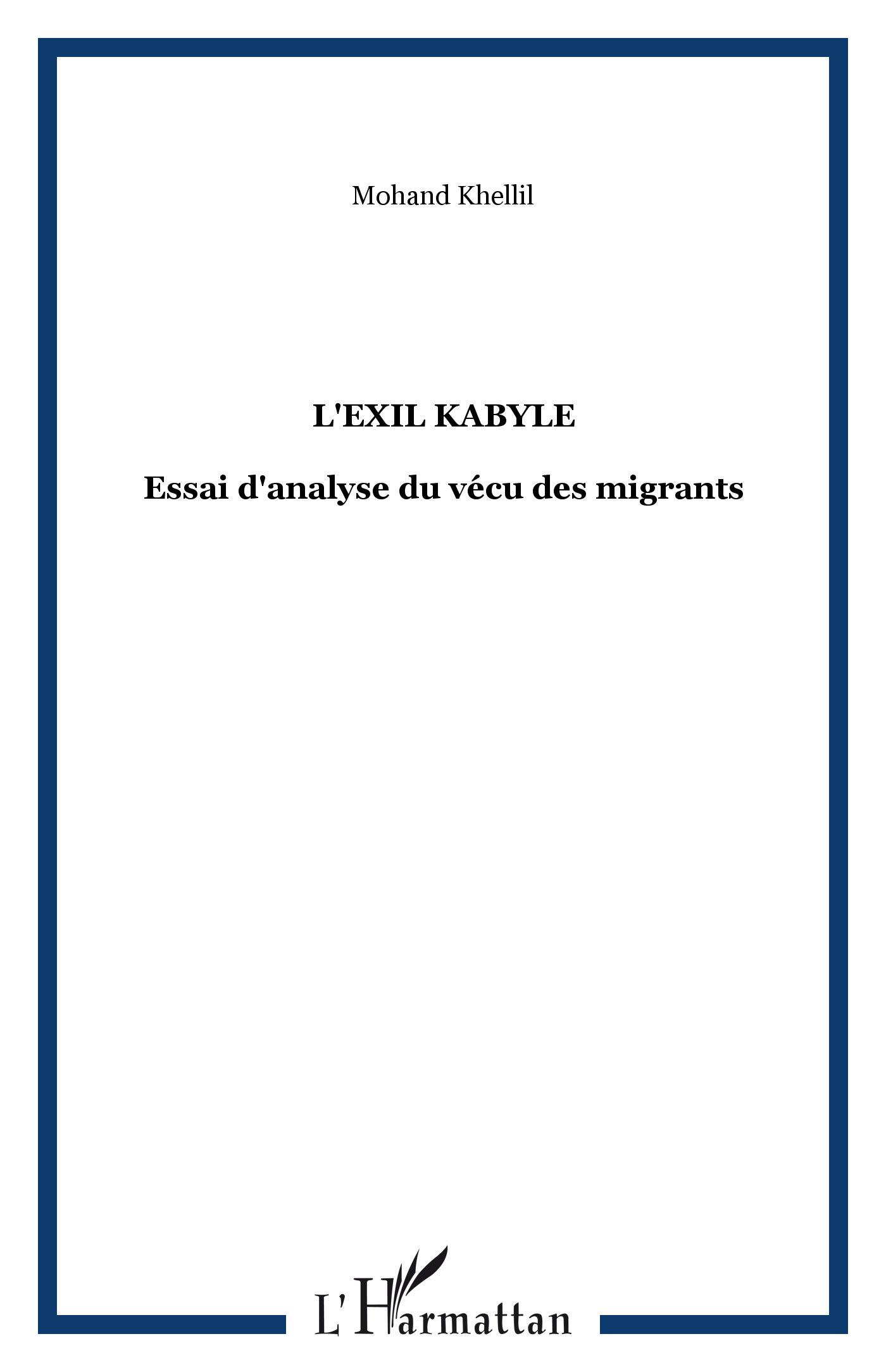 L'exil kabyle