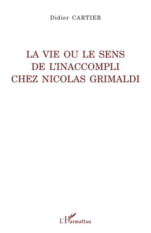 La vie ou le sens de l 39 inaccompli chez nicolas grimaldi for Astrologie ou le miroir de la vie