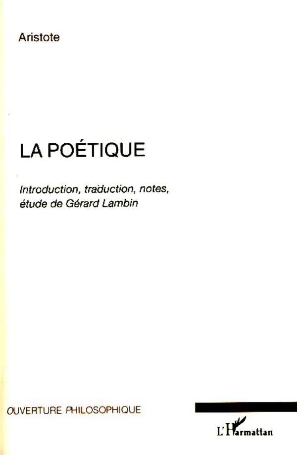 La poétique