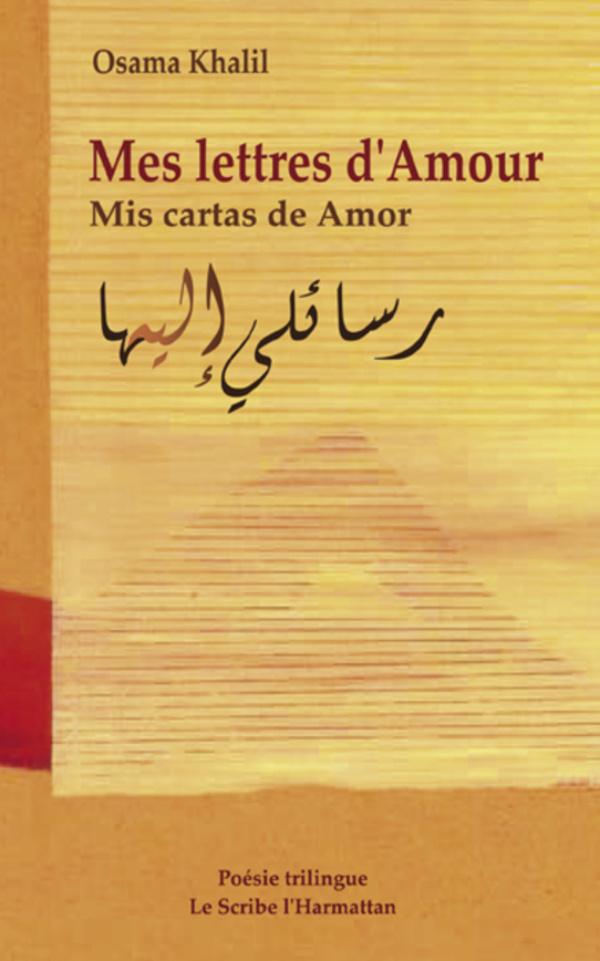 Mes Lettres Damour Mis Cartas De Amor Poésie Trilingue