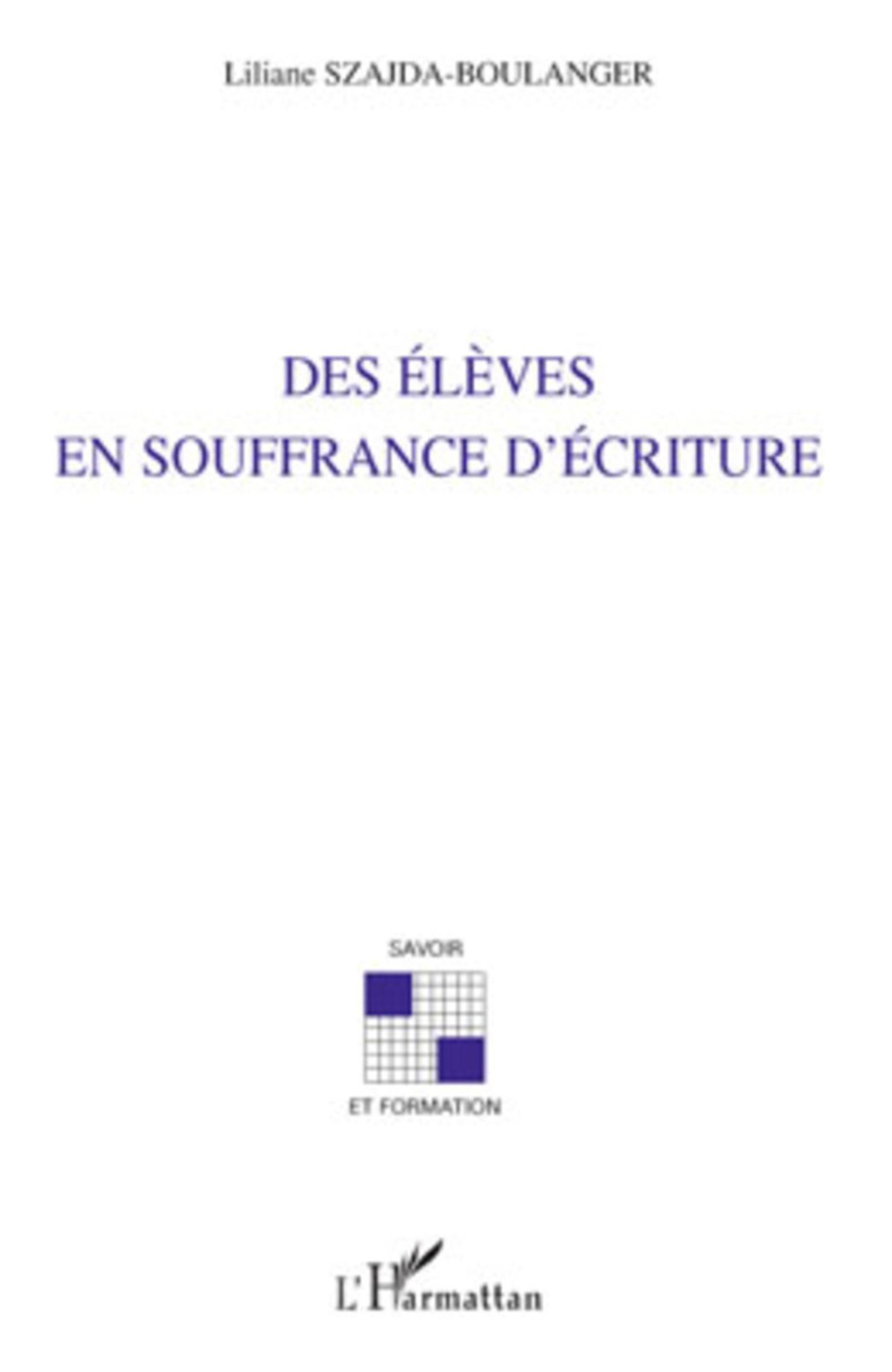 Des l ves en souffrance d 39 criture liliane szajda for Ecriture en miroir psychologie