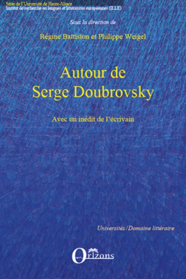 De Avec Inédit Serge Doubrovsky Philippe Un L'écrivain Autour qwt8dw