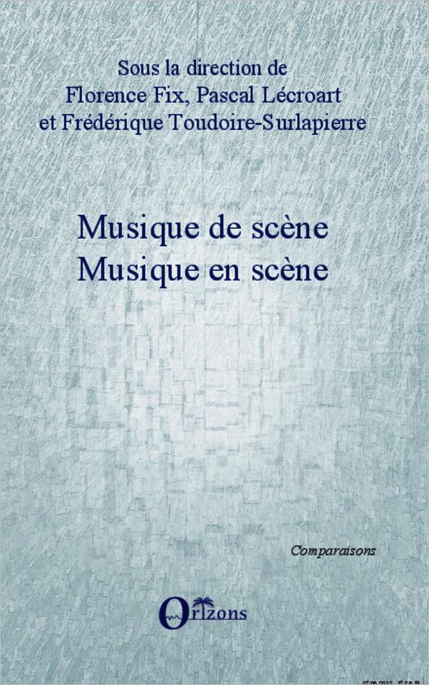 ScèneFlorence De Musique Scène Lécroart En FixPascal tshQCrd