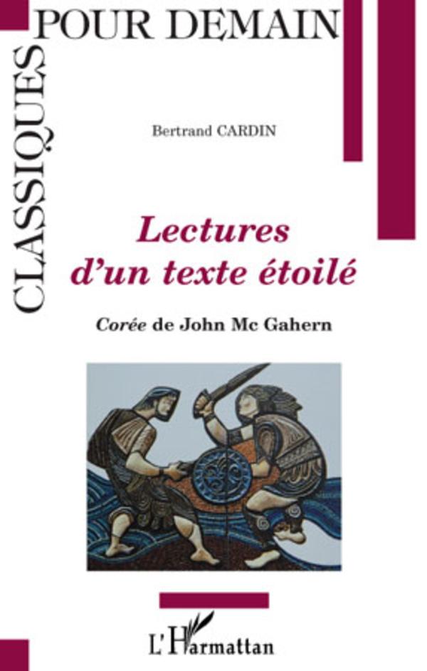Lectures d'un texte