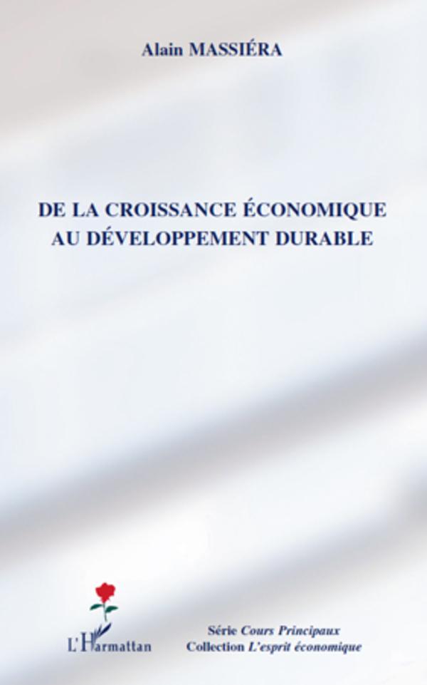 dissertation croissance economique developpement durable
