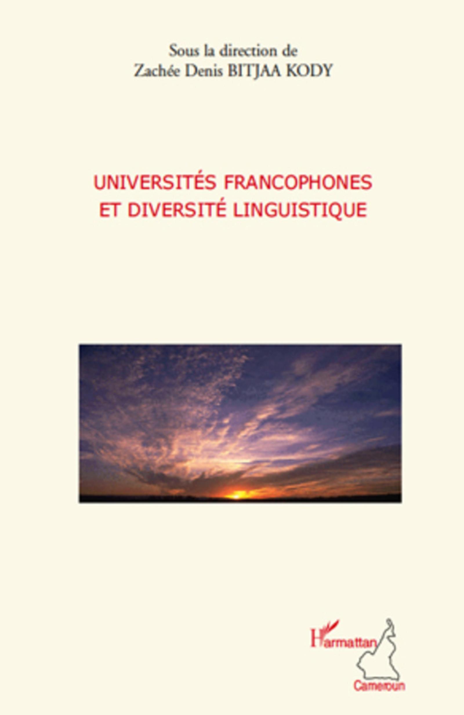 Universités francophones et diversité linguistique (Harmattan Cameroun) (French Edition)