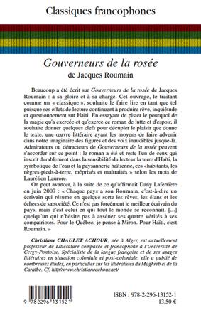 ROSEE DE TÉLÉCHARGER GOUVERNEUR LA