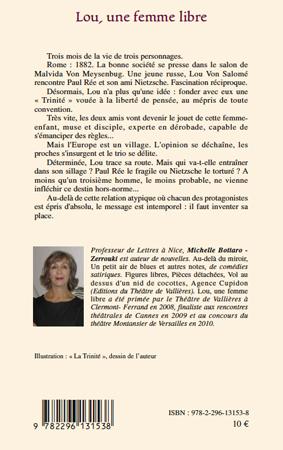 Lou, une femme libre: Théâtre (French Edition)