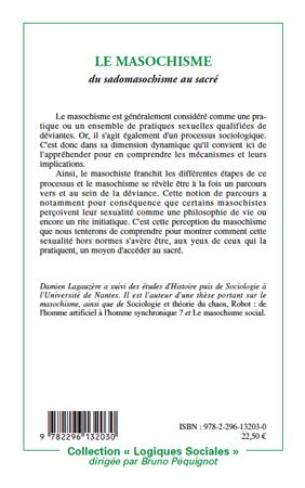 Get PDF Le masochisme : Du sadomasochisme au sacré (Logiques