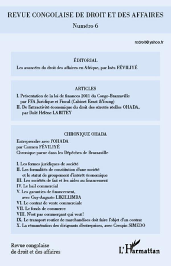 Revue congolaise de