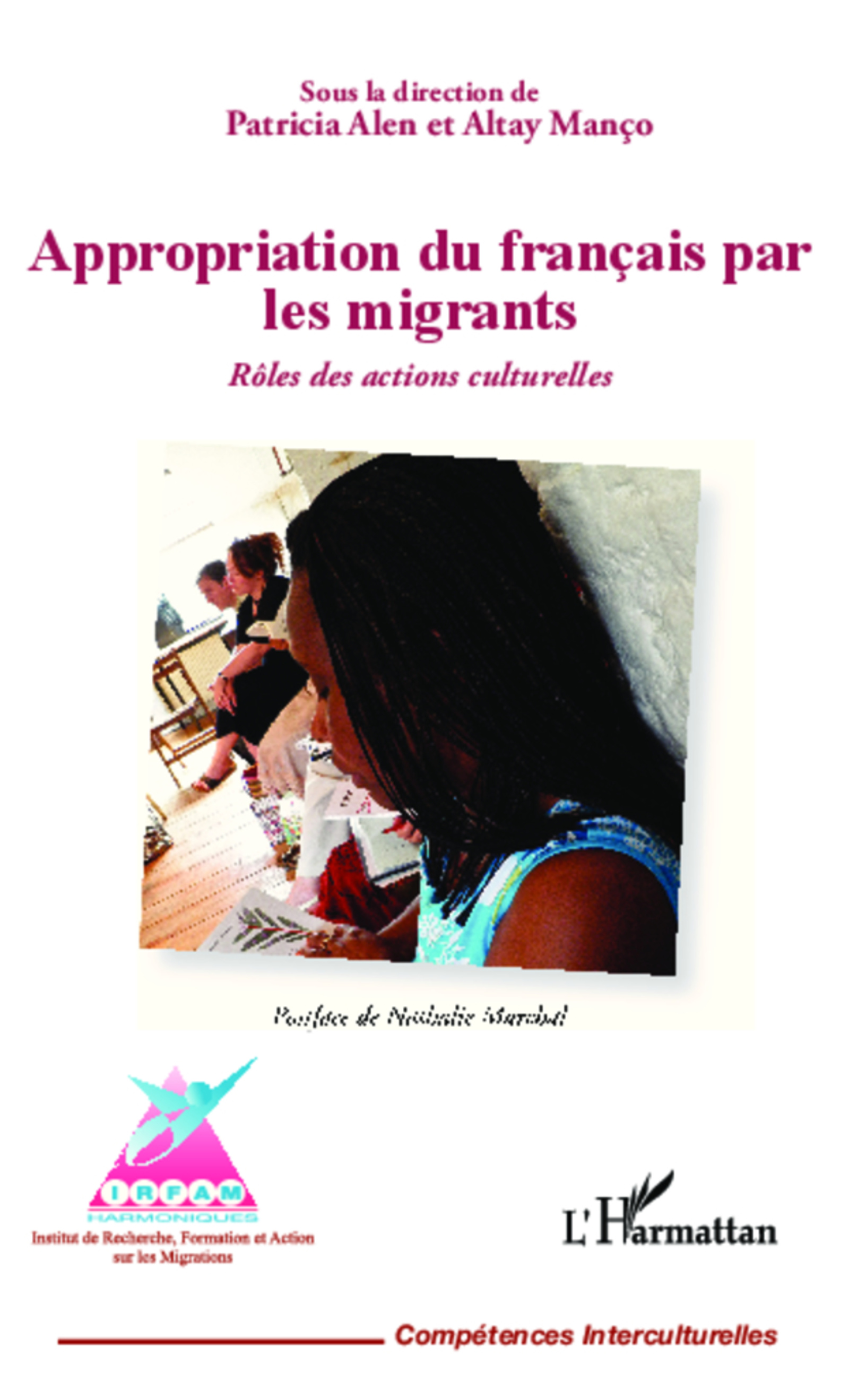 Couverture de 'Appropriation du français par les migrants'
