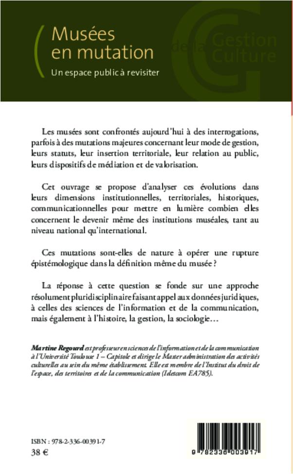 Mus es en mutation un espace public revisiter martine for Espace public pdf