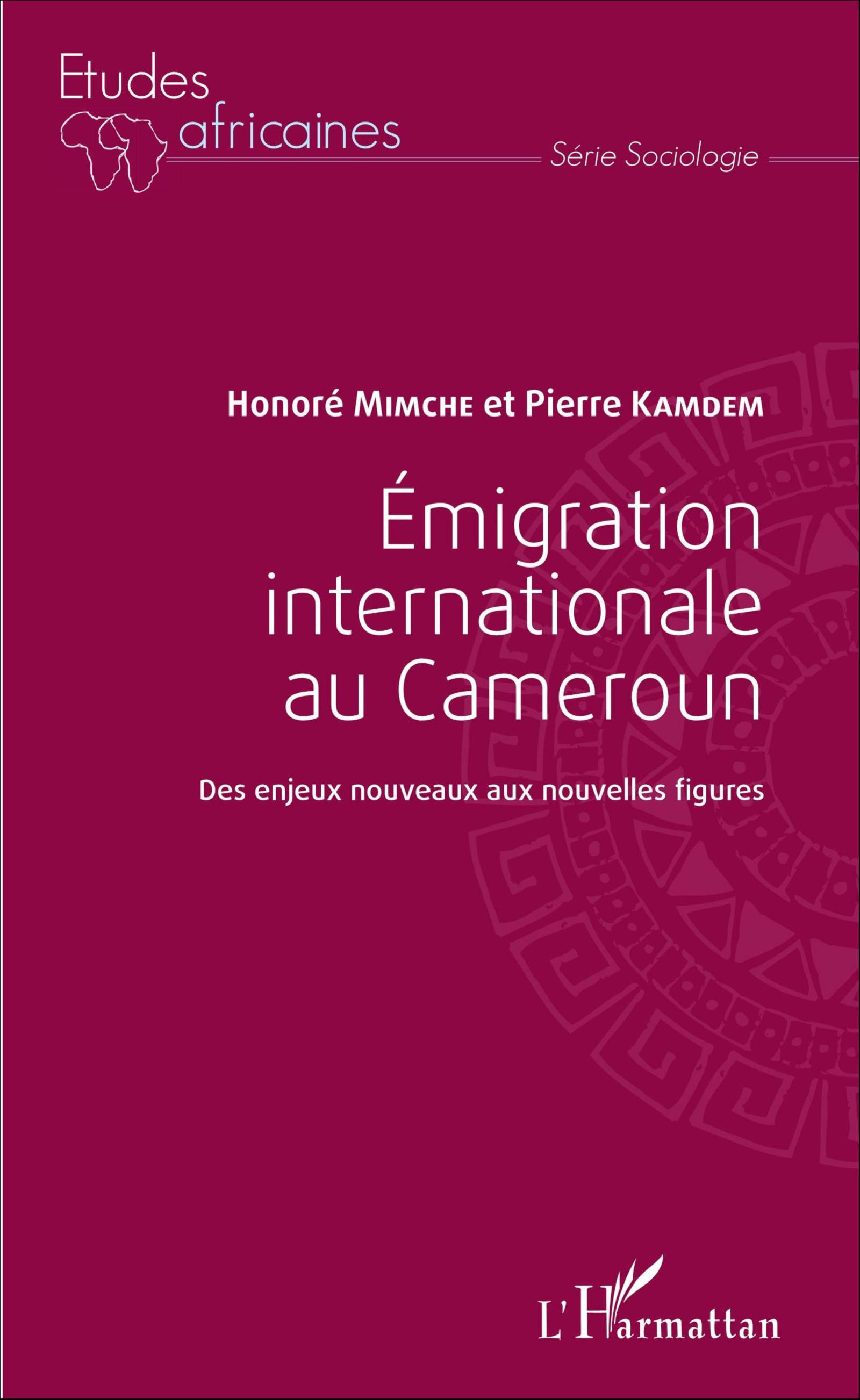 Emigration Internationale Au Cameroun Des Enjeux Nouveaux Aux Nouvelles Figures Honore Mimche Pierre Kamdem Livre Ebook Epub