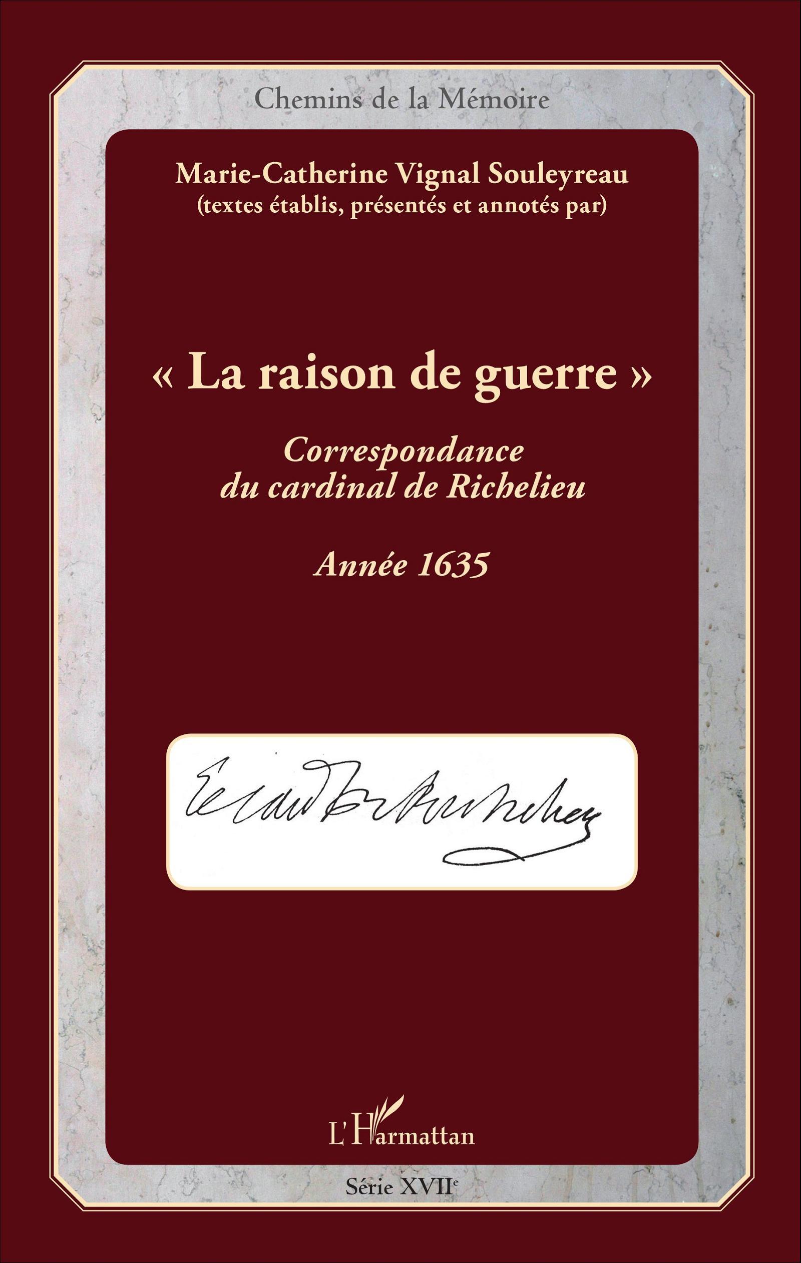 La raison de guerre correspondance du cardinal de for Catalogue de jardinage par correspondance