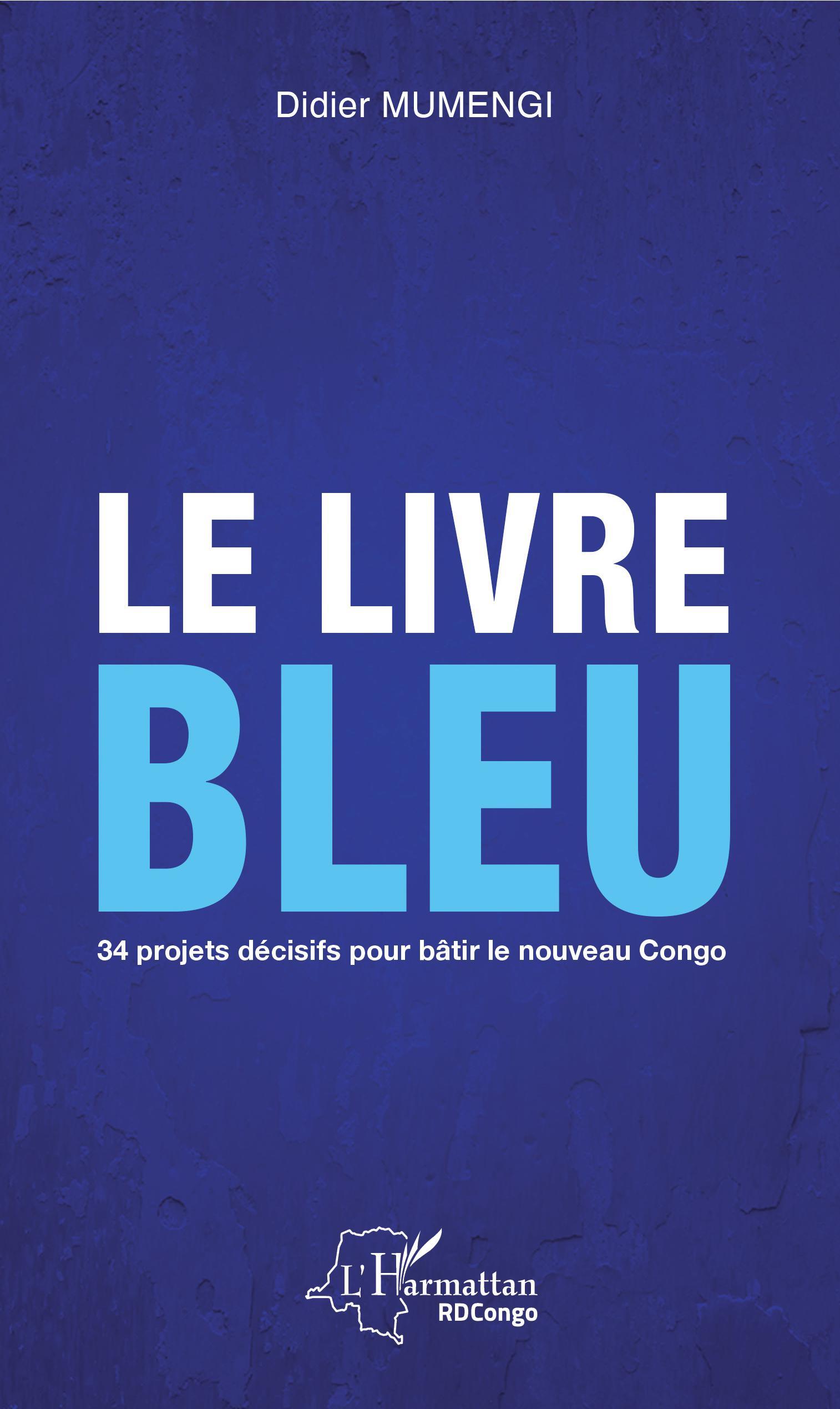 Le Livre Bleu 34 Projets Decisifs Pour Batir Le Nouveau Congo Didier Mumengi Livre Ebook Epub