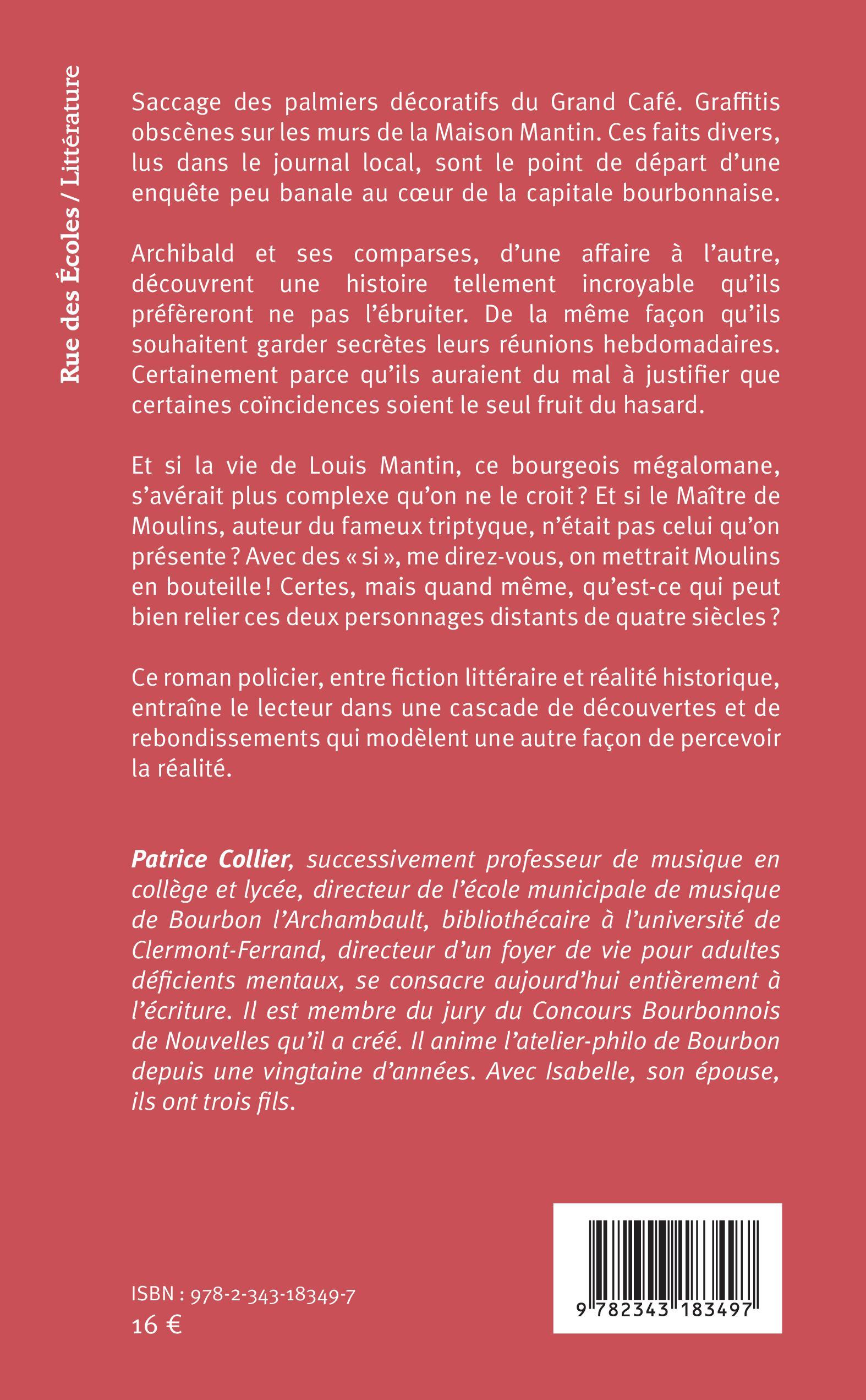 Le Mystere Mantin Roman Policier Patrice Collier Livre Ebook Epub Idee Lecture Ete