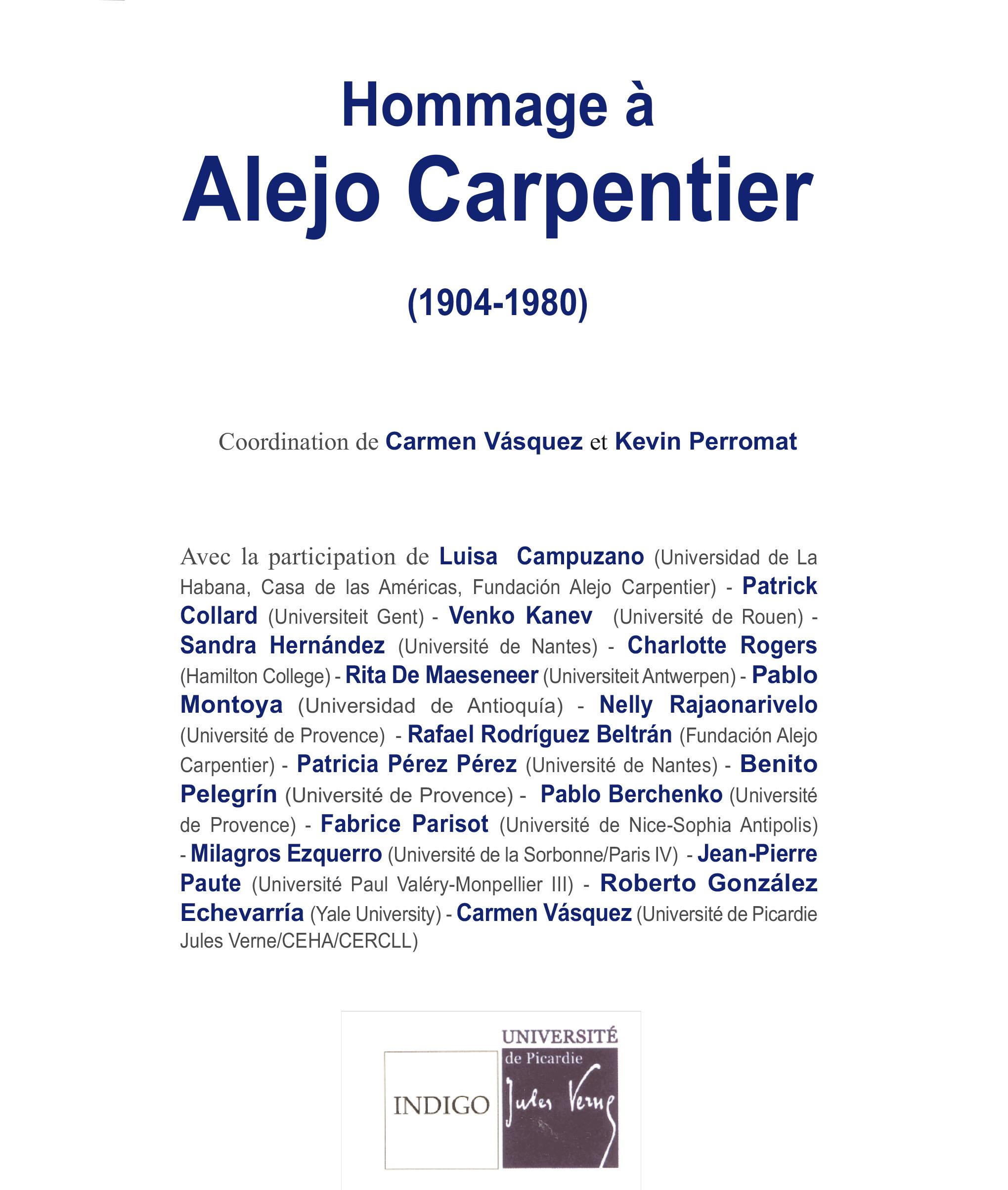 Hommage à Alejo