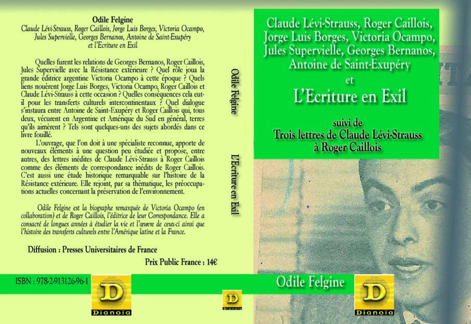 L 39 ecriture en exil claude l vi strauss roger caillois for Ecriture en miroir psychologie