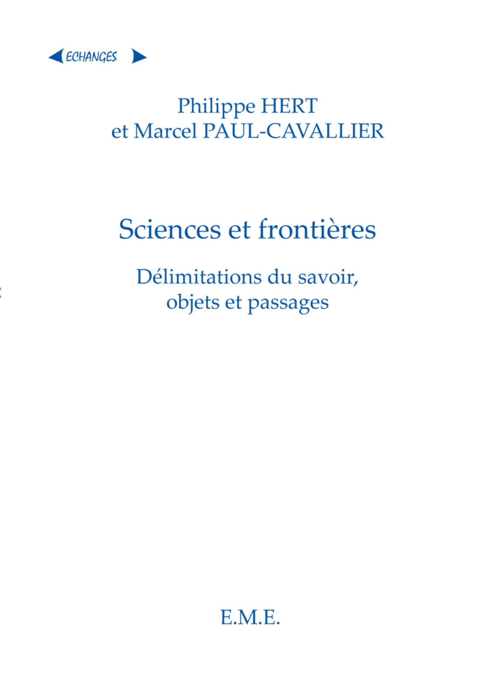 Sciences et
