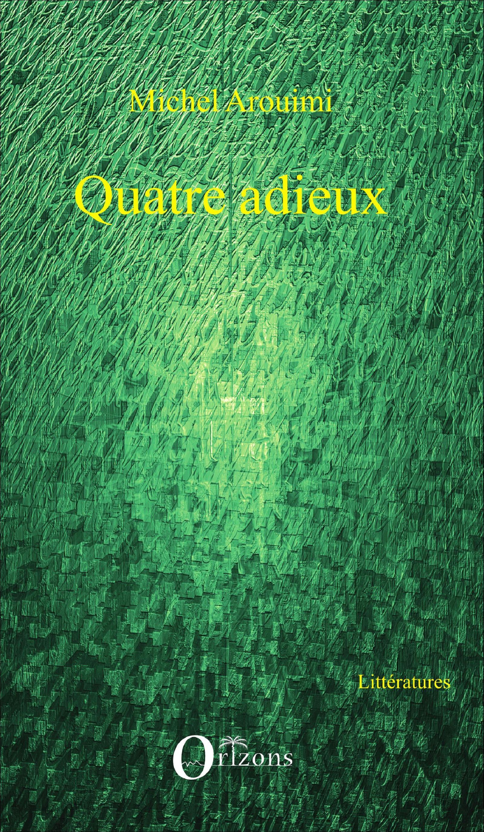 Epub Quatre Arouimi Livre Adieux Ebook Michel wXXqv08