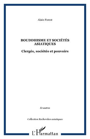 Couverture Bouddhisme et sociétés asiatiques