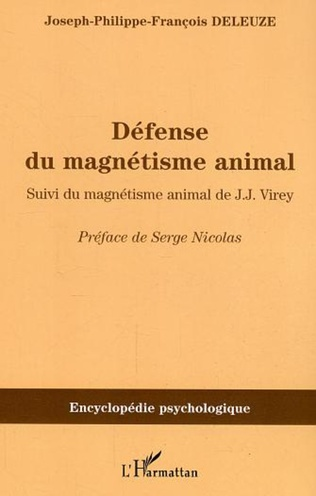 Couverture Défense du magnétisme animal