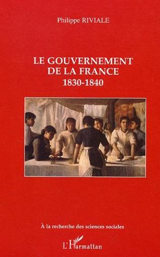 Couverture Le gouvernement de la France