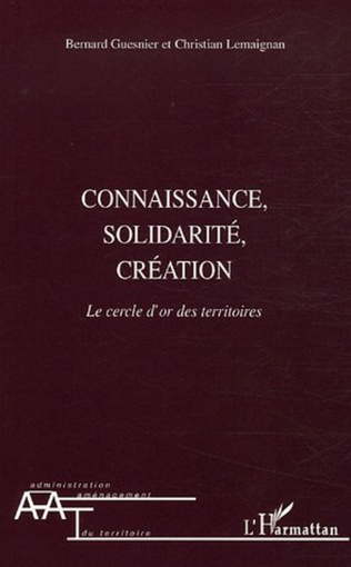 Couverture Connaissance, solidarité, création