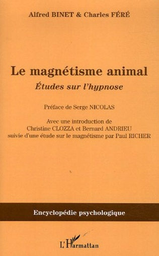 Couverture Le magnétisme animal