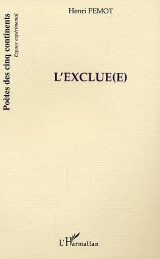 Couverture L'Exclue(e)
