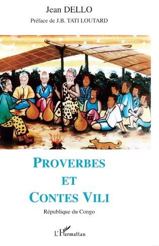 Couverture Proverbes et contes Vili