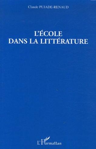 Couverture L'école dans la littérature