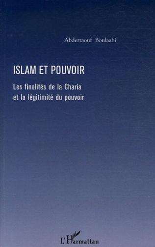 Couverture Islam et pouvoir