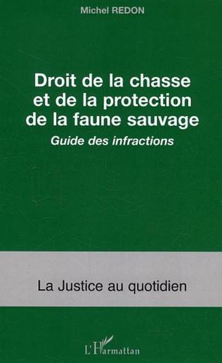 Couverture Droit de la chasse et de la protection de la faune sauvage