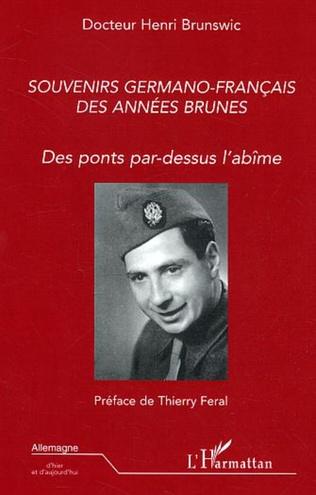 Couverture Souvenirs germano-français des années brunes