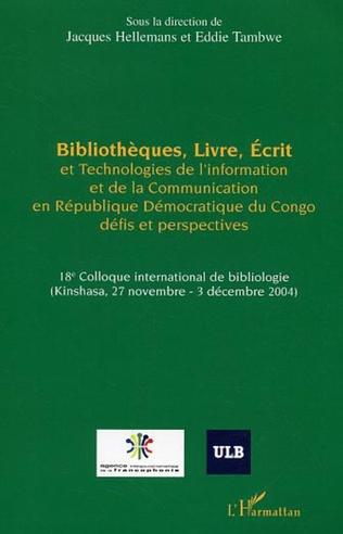 Couverture Bibliothèques, Livre, Ecrit et Technologies de l'Information et de la Communication