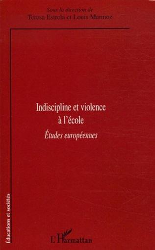 Couverture Indiscipline et violence à l'école